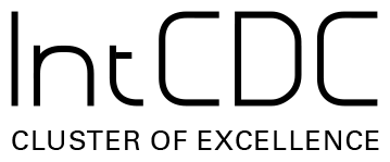Cluster of Excellence Integrative Computational Design and Construction for Architecture (EXC IntCDC) logo